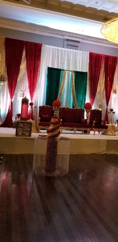 Elegant Wedding Stage Decorations Toronto by OMG DECOR