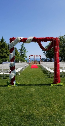 Outdoor Wedding Decor Ottawa by OMG DECOR