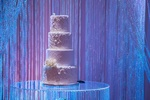 White Lace Wedding Cake - Wedding Decor Mississauga by OMG DECOR