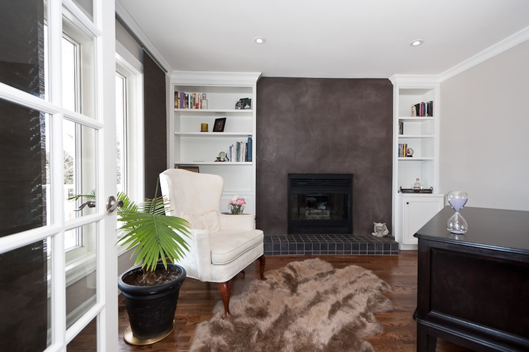 Transitional Style Living Room Interior Design Ottawa by BEAULIEU DESIGN