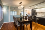 Modern Dining Space - Kitchen Remodelling Westboro by BEAULIEU DESIGN