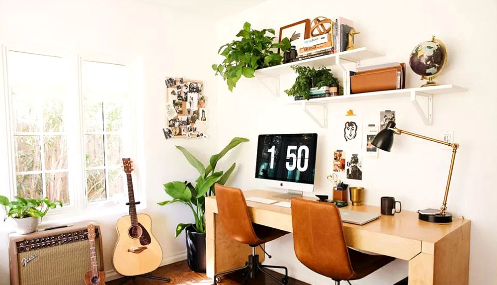 27 Ways to Create a Stylish Small Home Office