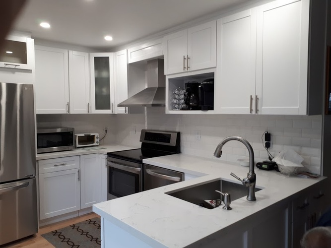 Custom Kitchen Cabinets - Residential Renovations Pickering by PCM Inc.