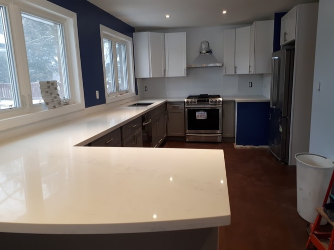 Custom Kitchen Design in Bowmanville by PCMINC
