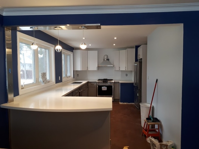 Affordable Kitchen Cabinet - Residential Renovation in Ajax by PCM Inc.