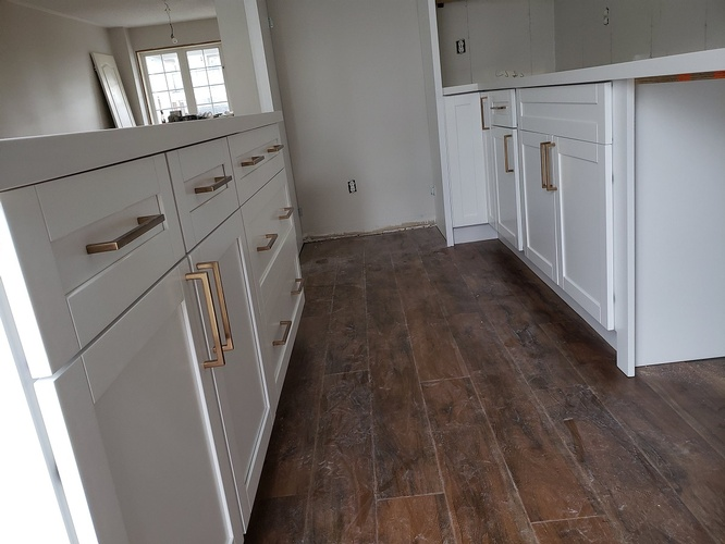 Vinyl Flooring - Kitchen Remodelling Ajax by PCM Inc.