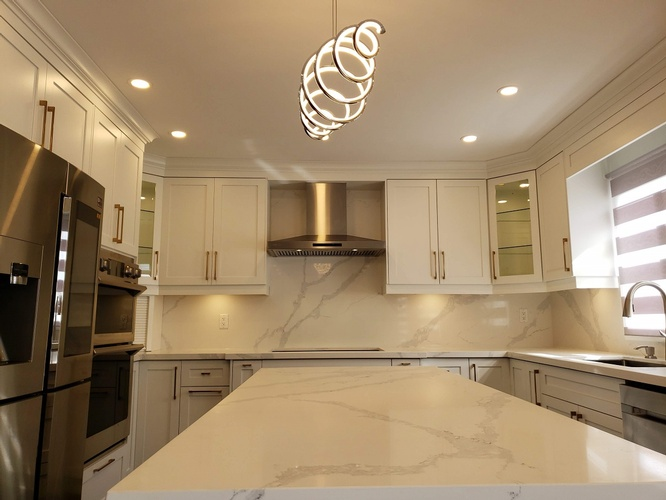 Modular Granite Kitchen Cabinetry - Kitchen Renovation Services Ajax by PCMINC