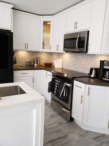 Black Granite Countertop - Kitchen Renovation Services Ajax by PCMINC