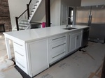 Kitchen Countertop and Cabinetry -  Residential Renovation Fraserville by PCM Inc.
