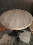 Round Wooden Table - Renovation Company Ajax by PCMINC