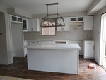 Contemporary Kitchen Renovation Vaughan by PCM Inc.