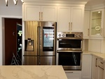 White Granite Countertop - Kitchen Remodelling Ajax by PCM Inc.