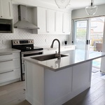 White Modular Kitchen - Kitchen Renovation Services Oshawa by PCMINC