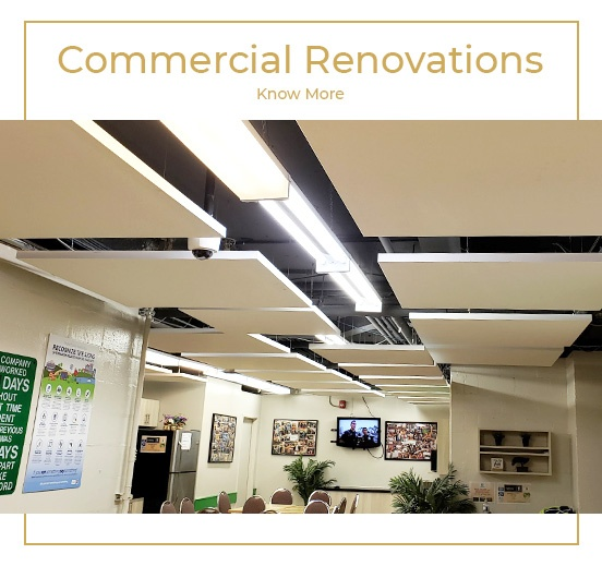 Commercial Renovation in markham