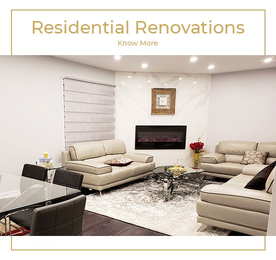 Residential Renovation - Renovation Services Ajax at PCMINC