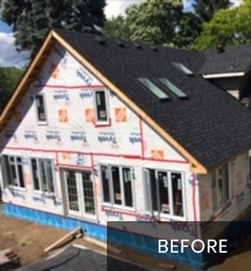 Before New Home Construction Services by Brampton General Contractor at Arnold Homes Ltd