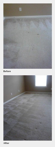 Carpet Before and After Cleaning - Carpet Cleaning Atlanta by Preferred Carpet Cleaning and Floor Care