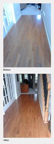 A Wooden Floor Cleaning Comparison - Floor Cleaning Atlanta by Preferred Carpet Cleaning and Floor Care