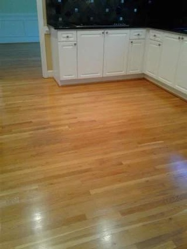 Cleaned Wooden Floor - Hardwood Floor Cleaning Atlanta by Preferred Carpet Cleaning and Floor Care