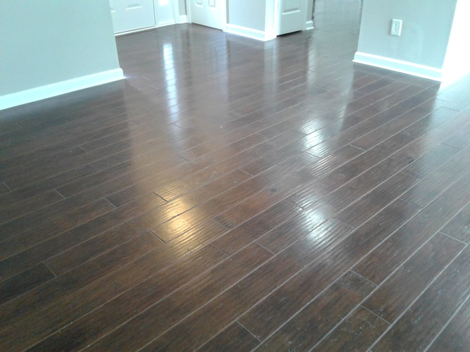 Wooden Floor After Cleaning - Floor Cleaning Atlanta by Preferred Carpet Cleaning and Floor Care