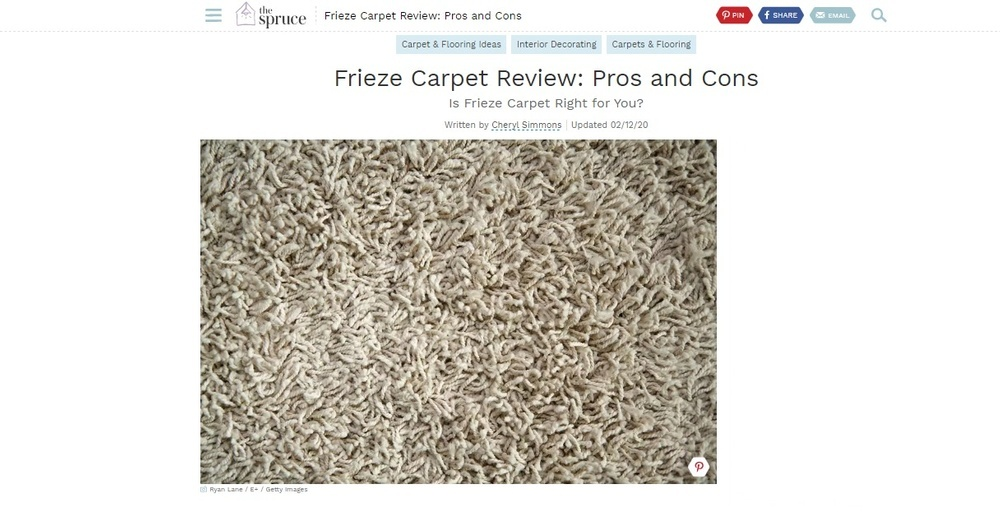Frieze Carpet Reviews - Pros and Cons