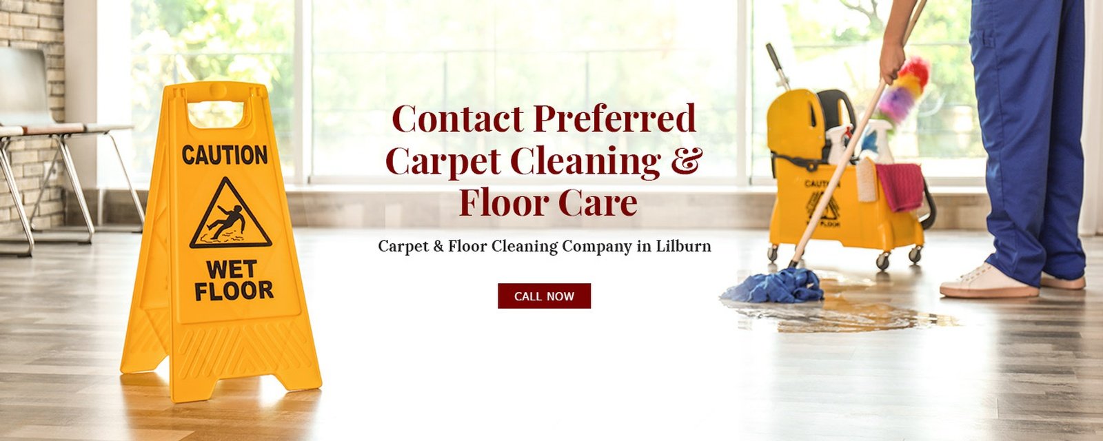 Contact Preferred Carpet Cleaning and Floor Care - Carpet and Floor Cleaning Company Lilburn