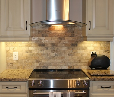 Kitchen Tile Backsplashes Niagara Falls by Bert Vis Flooring Inc.