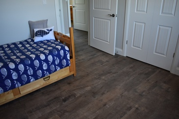 Bedroom Hardwood Floor Installation Burlington by Bert Vis Flooring Inc.
