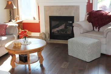 Living Room Floor Installation Hamilton by Bert Vis Flooring Inc.