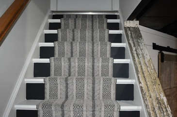 Carpet Runner for Stairs by Flooring Installers Burlington - Bert Vis Flooring Inc.