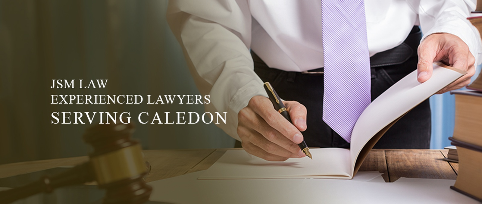 CORPORATE, CRIMINAL AND PERSONAL INJURY LAWYERS CALEDON ON