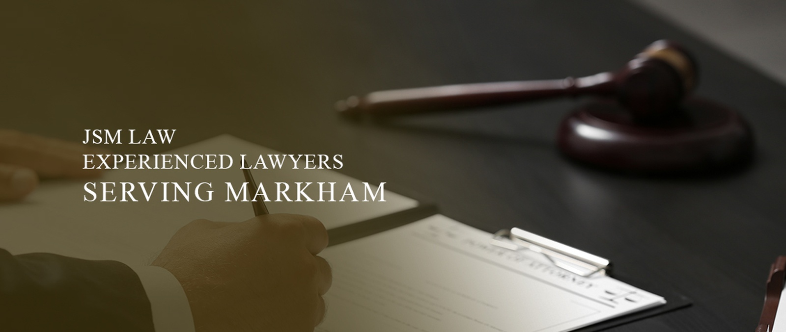 CORPORATE, CRIMINAL AND PERSONAL INJURY LAWYERS MARKHAM ON