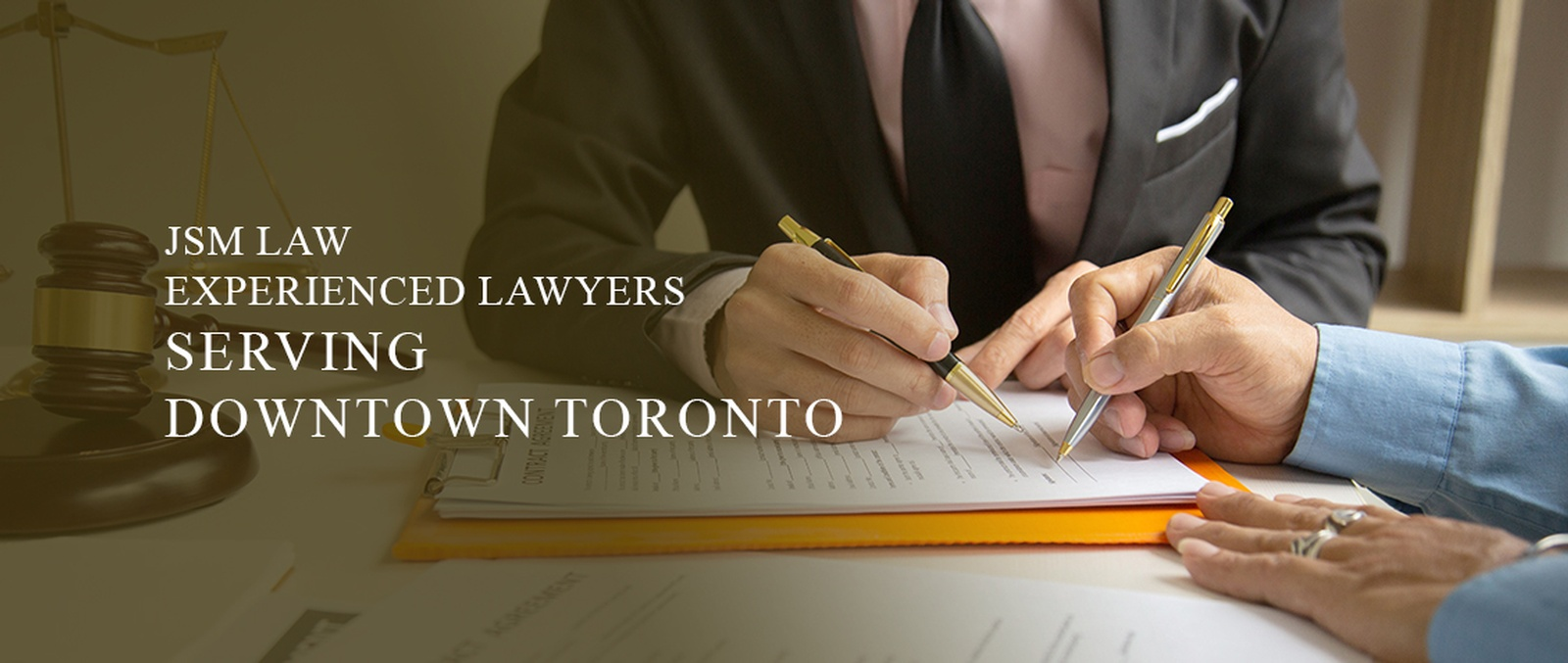 CORPORATE, CRIMINAL AND PERSONAL INJURY LAWYERS DOWNTOWN TORONTO ON