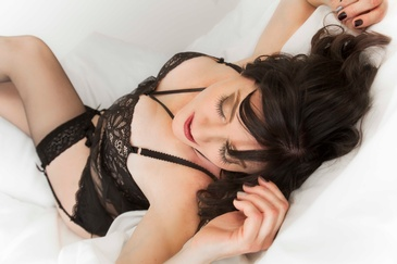 Woman in Boudoir Outfit - Boudoir Photography Services Spruce Grove AB by  Artistic Creations Photography and Video