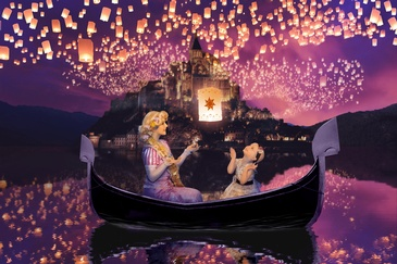 Floating Lanterns - Children's Fantasy Photography Edmonton by Artistic Creations Photography and Video