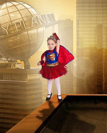 Supergirl - Children's Fantasy Photography Sherwood Park by Artistic Creations Photography and Video