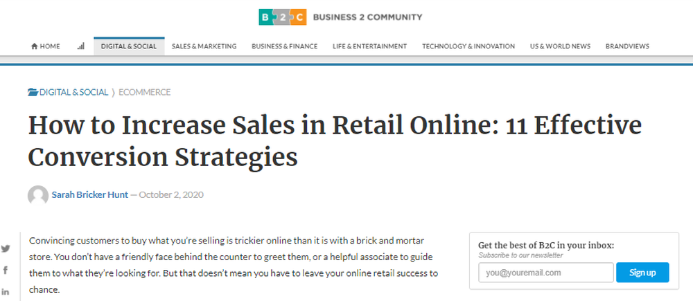 How to Increase Sales in Retail Online 11 Effective Conversion Strategies