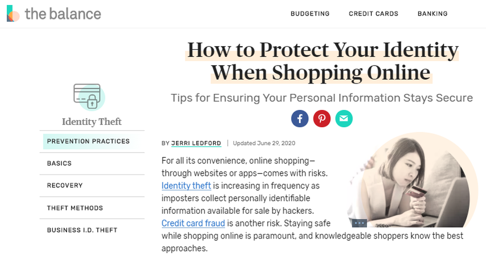 How to Protect Your Identity When Shopping Online