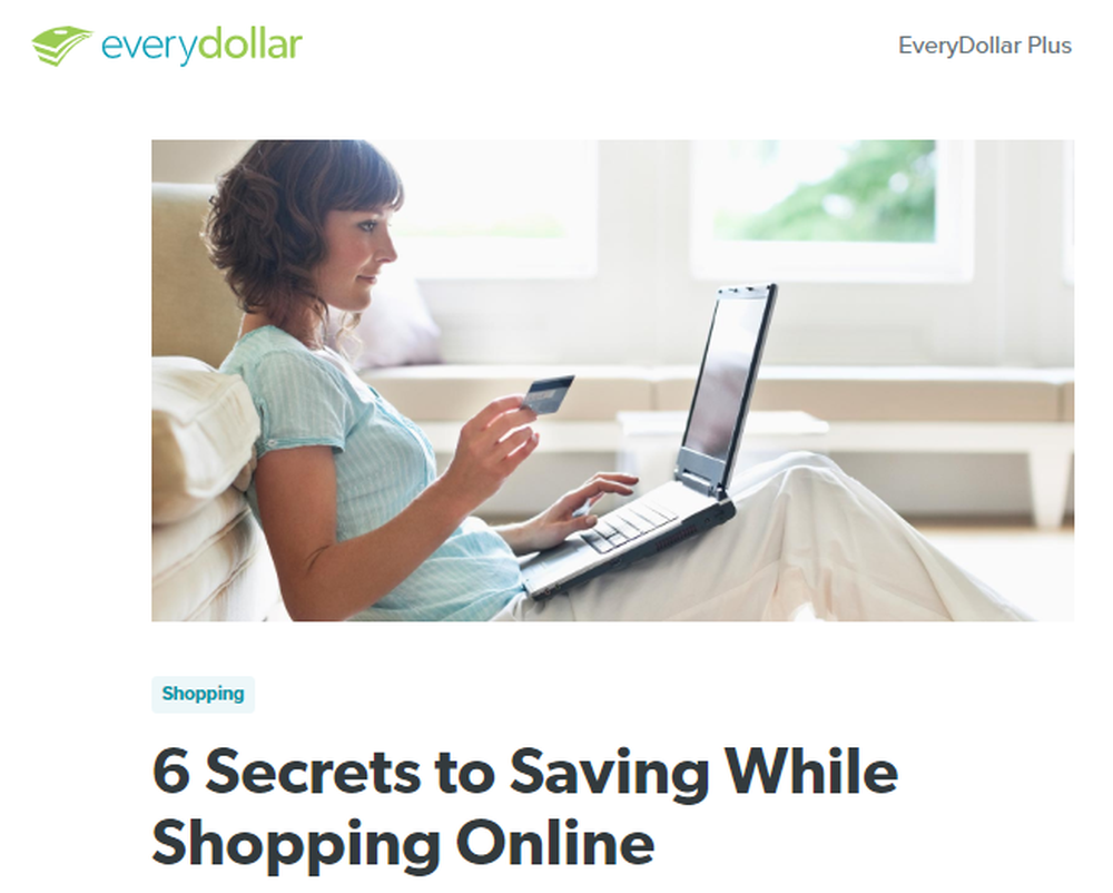 6 Secrets to Saving While Shopping Online