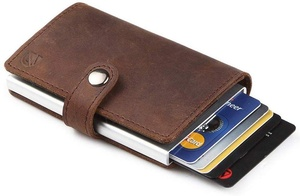 A slim wallet and card holder