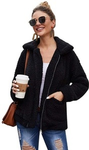 Womens Faux Shearling Jacket at Sopro Market - Online Fashion Store Canada
