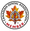 Member of Canadian Dental Association - Oral Health Care