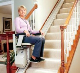 Stair Chair Lifts by Access Options Inc in Palo Alto