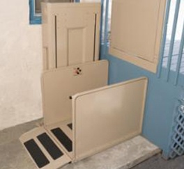 Vertical Platform Lifts by Access Options Inc in Palo Alto