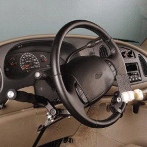 MPD Steering Control - 3523B Palm Grip by Access Options Inc - MPD Disabled Driving Aids Mountain View