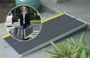 EZ-ACCESS Suitcase Ramp Advantage Series by Access Options Inc - Portable Wheelchair Ramp Watsonville