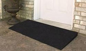 EZ-ACCESS Rubber Threshold Ramp by Access Options Inc - Hayward Wheelchair Ramp Rentals