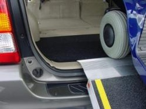 EZ-ACCESS Ramps - Rubber Cargo Wedge by Access Options Inc - Wheelchair Ramp Rentals Watsonville