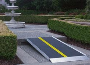 EZ-ACCESS Pathway Lite Ramp by Access Options Inc - Wheelchair Ramp Rentals Fremont