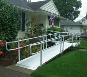 EZ-ACCESS Modular Ramps by Access Options Inc - Hayward Wheelchair Ramp